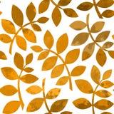 Vattenfärg Autumn Abstract Background Royaltyfri Bild