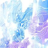 Vattenfärg background12 stock illustrationer