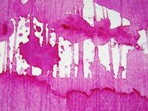 vattenfärg för 7 rosa texturer Royaltyfri Fotografi