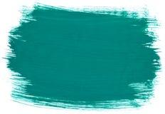 Vattenfärg för aquarel för turkosgräsplanabstrakt begrepp royaltyfri fotografi