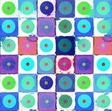 vattenfärg för bakgrundsdesigndiagram Royaltyfria Foton