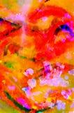 Vattenfärg i abstrakt begrepp Royaltyfri Foto