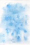 Vattenfärg på vitbok Arkivfoto