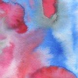 vattenfärg texturerad bakgrund Abstrakt garnering för affisch eller förpackande design Tryckbar garnering för vattenfärg in Arkivbilder