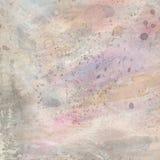 Vattenfärg texturerad bakgrund i pastellfärgade färger Royaltyfri Fotografi
