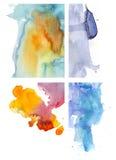 Vattenfärgbakgrund 10 Royaltyfria Foton