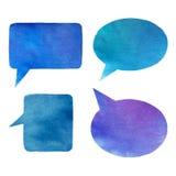 Vattenfärgbubblor Royaltyfria Bilder
