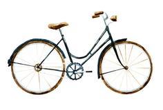 Vattenfärgcykel Royaltyfri Fotografi