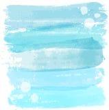 Vattenfärgen fodrar bakgrund Arkivbild
