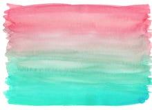Vattenfärgen tvättar texturbakgrund vektor illustrationer