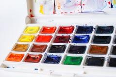 vattenfärger Royaltyfri Fotografi