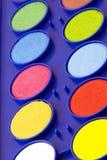 vattenfärger Arkivbilder