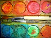 vattenfärger Royaltyfri Bild