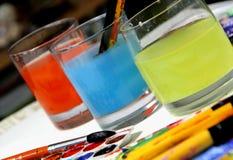 Vattenfärger Royaltyfria Bilder