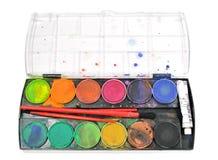 vattenfärger fotografering för bildbyråer