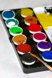 vattenfärger Arkivbild