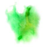 Vattenfärgfläck Arkivbild