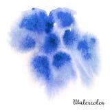 Vattenfärgfläck Royaltyfria Bilder