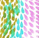 Vattenf?rgfl?ck p? en vit bakgrund Abstrakt hand m?lad vattenf?rgbakgrund stock illustrationer