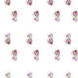 Vattenfärgillustration av en blomma Royaltyfri Bild