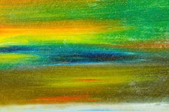 vattenfärgmålarfärg på kanfasen arkivbilder