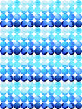 Vattenfärgmålningblått tappar modelldesignen, den hand drog pantonen Arkivfoton