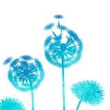 Vattenfärgmaskrosbakgrund Arkivbild