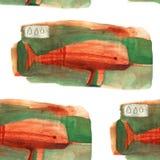 Vattenfärgnarval Royaltyfria Bilder