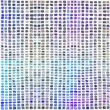 Vattenfärgpalett med kulöra rektanglar royaltyfri illustrationer