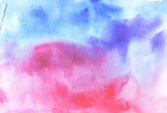 Vattenfärgpapper vektor illustrationer