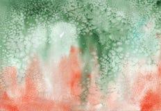 Vattenfärgpapper stock illustrationer