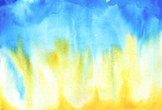 Vattenfärgpapper royaltyfri illustrationer