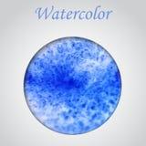 Vattenfärgram Fotografering för Bildbyråer