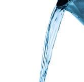 Vattenfärgstänk, stråle som isoleras på viten Fotografering för Bildbyråer