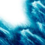 Vattenfärgstänkbakgrund stock illustrationer