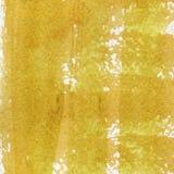 Vattenfärgtextur av en genomskinlig apelsin, brun färg illustration Abstrakt bakgrund för vattenfärg, fläckar, suddighet som strä Royaltyfri Foto