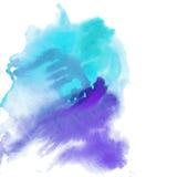 Vattenfärgvektorillustration Royaltyfri Bild