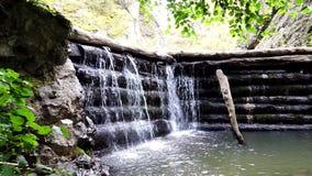 Vattenfördämning lager videofilmer