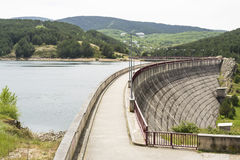 Vattenfördämning Royaltyfri Foto