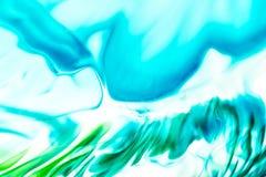 Vattenf?rg- och akrylabstrakt begrepp f?rgrik bakgrund Blandning, f?rgst?nk och teckningar av f?rger: bl?tt turkos, gr?nt, brunt  arkivfoton