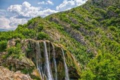 Vattenfallöverkant Royaltyfri Foto