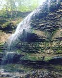 Vattenfall Arkivfoton