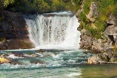 Vattenfall - Adamello Trento Italien Arkivfoto