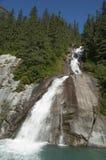 Vattenfall Alaska arkivbilder