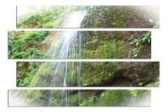 Vattenfall Art High Quality royaltyfri bild