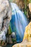 Vattenfall av algar (Fuente de Algar) Arkivbild