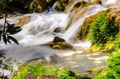 Vattenfall av algar (Fuente de Algar) Royaltyfri Bild