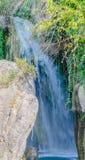 Vattenfall av algar (Fuente de Algar) Royaltyfria Bilder