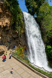 Vattenfall av Edessa royaltyfria foton