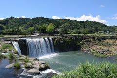 Vattenfall av Harajiri Royaltyfria Foton